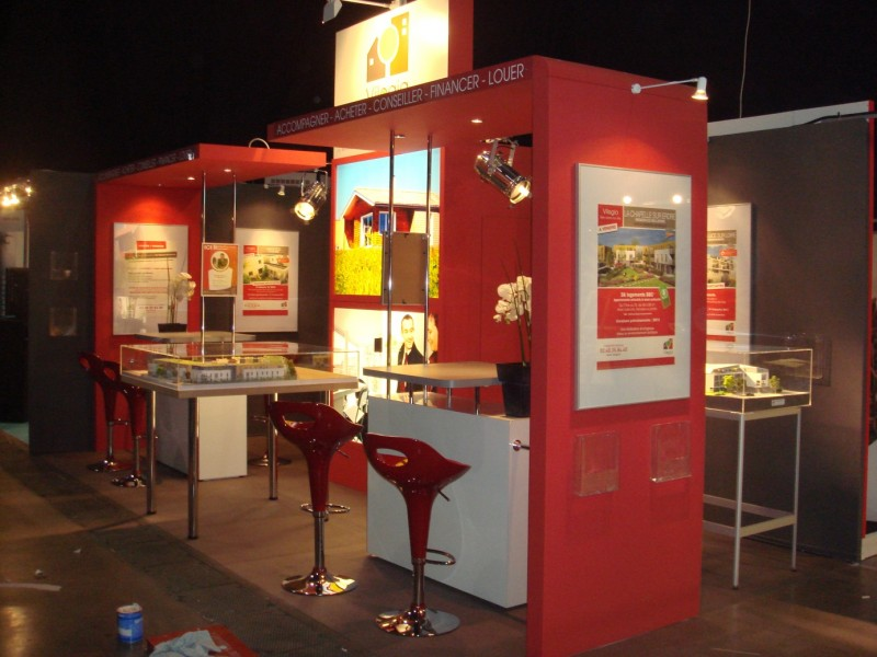 Stands traditionnels activ expo stands portables for Stand traditionnel